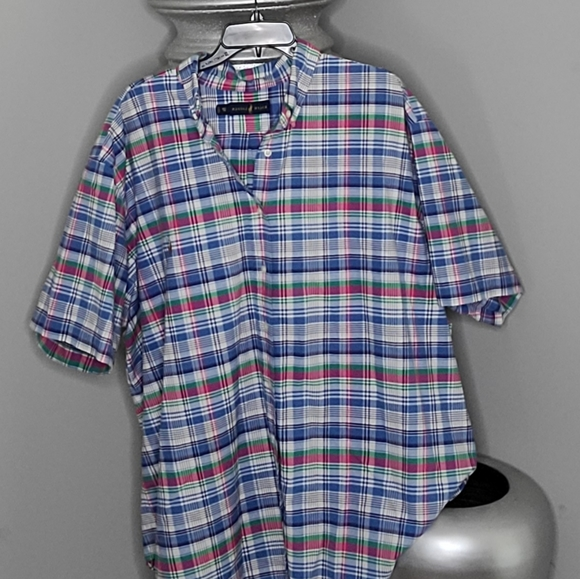 Mens plaid button down Raplh Lauren shirt